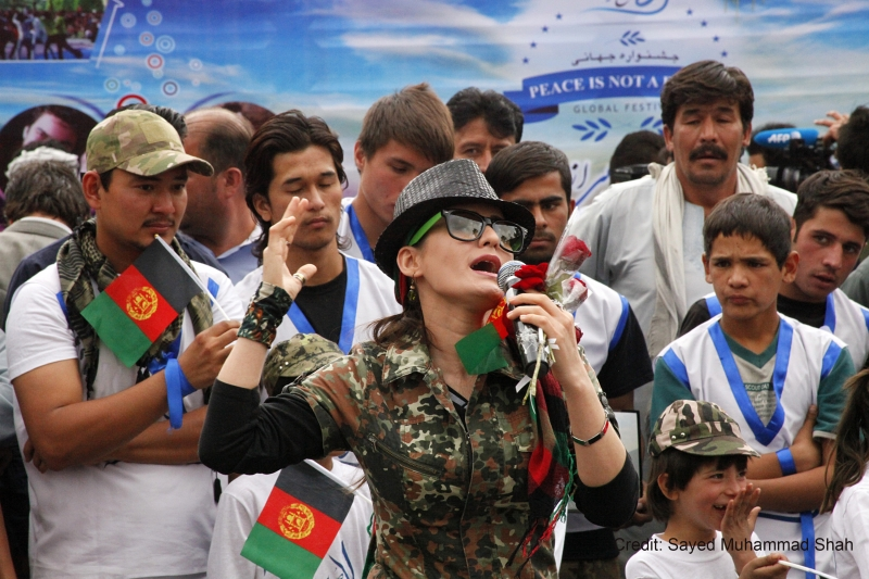 Afghans marked Peace Day: 21 September 2015 KABUL, 21 September 2015 - Afghans marked Peace Day with songs, performances, peaceful demonstrations and other activities in Kabul and across the country. Photo: Sayed Muhammad Shah
