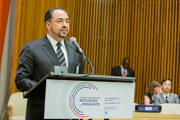 Statement by H.E. Foreign Minister Salahuddin Rabbani  At the High-Level Meeting on Migration and Refugees