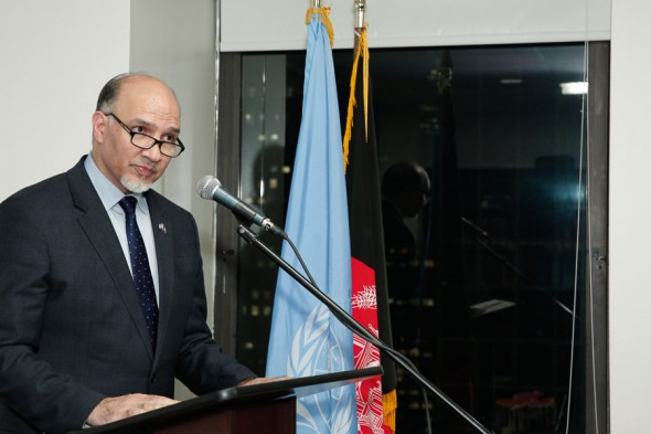 Remarks of H.E. Mahmoud Saikal on the Occasion of the 70th anniversary of Afghanistan's Membership to the United Nations