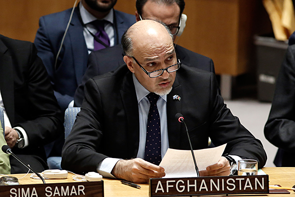 Ambassador Mahmoud Saikal, Permanent Representative of the Islamic Republic of Afghanistan to the UN