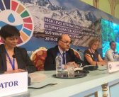 Press conference for International Water Conference – Dushanbe June 2018