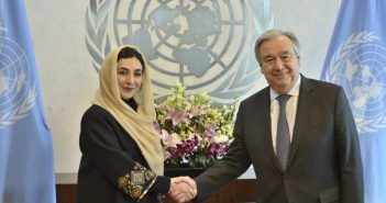 New Permanent Representative of Afghanistan Presents Credentials to UN Secretary General