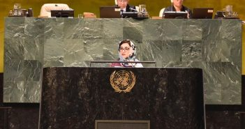 Remarks Of H.E. Ambassador Adela Raz at  High-level Meeting on Multilateralism and Diplomacy for Peace