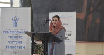 """Remarks by H.E. Adela Raz at the Opening of the Photo Exhibition """"Surviving Terrorism: The Power of Resilience."""""""